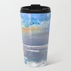 Blue Color Patches Travel Mug
