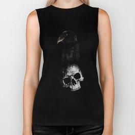 Raven and Skull Biker Tank