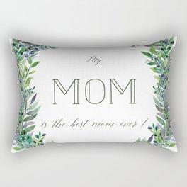 Garland for Mom Rectangular Pillow