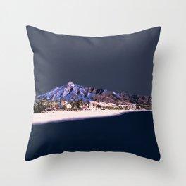 Marbella Marine Throw Pillow