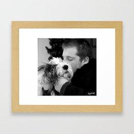 bandit 02 Framed Art Print