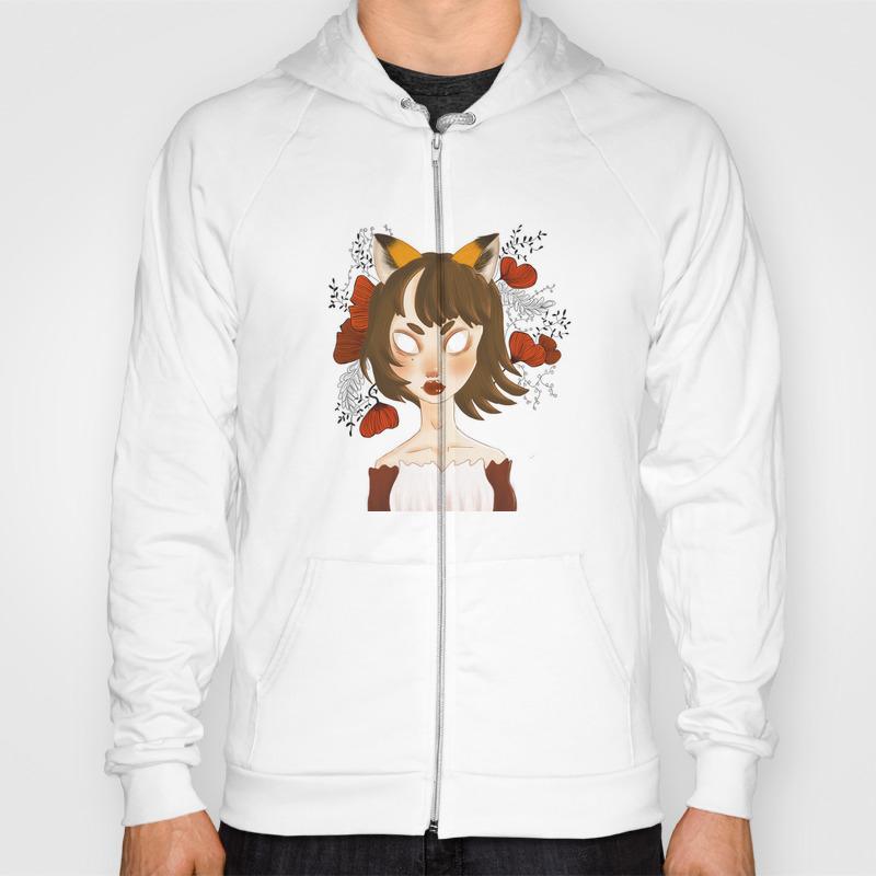 Fox Lady Sweat Shirt by Beart SSR8923034
