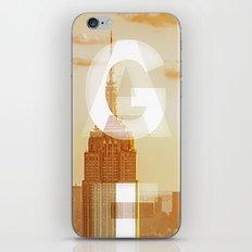 GEARS of NYC iPhone & iPod Skin