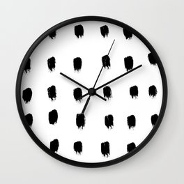 Jacques Pattern Wall Clock