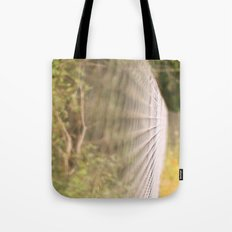 Field fence Tote Bag