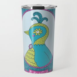 Ms. Abigail Quail Travel Mug