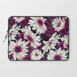Teteaweka Daisy Floral Print (Night) Laptop Sleeve