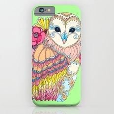 Barn Owl & Flowers Slim Case iPhone 6s