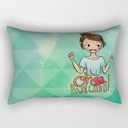 Oh So Awkward Rectangular Pillow