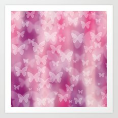 Girly! Girly! Girly! Art Print