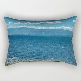 LAGO ENRIQUILLO Rectangular Pillow