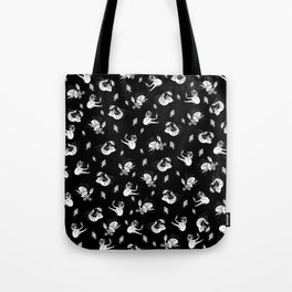 Pet Fish - Black Print Tote Bag