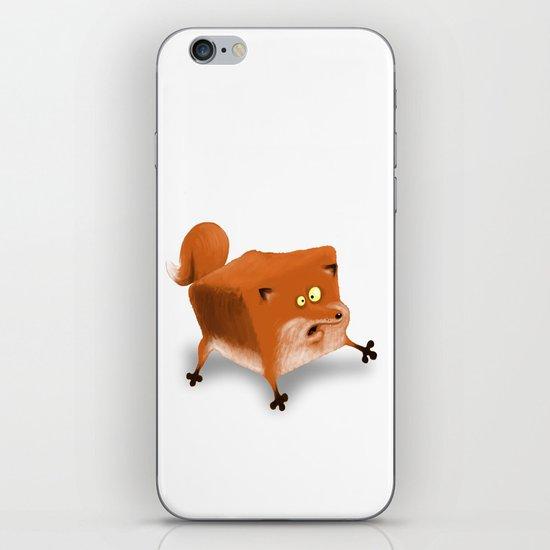 Box in a Fox iPhone & iPod Skin
