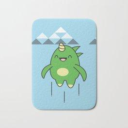 Kawaii Dragon Bath Mat