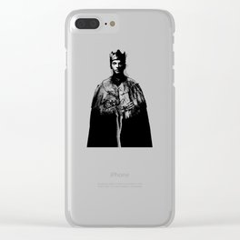 King Dave Gahan From Enjoy The Silence - Final Clear iPhone Case