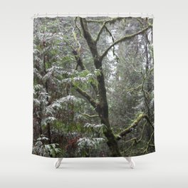 Shinrin-yoku Shower Curtain
