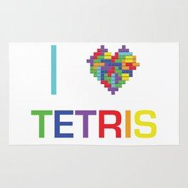 I heart Tetris Rug