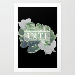 Yes. I am an INTJ (Green) Art Print