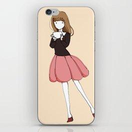 GIRL06 iPhone Skin