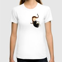 libra T-shirts featuring Libra by Kristina Sabaite
