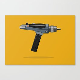 Star Trek Phaser Canvas Print