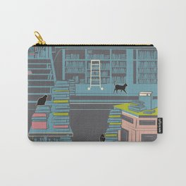 Bookstore cats Carry-All Pouch