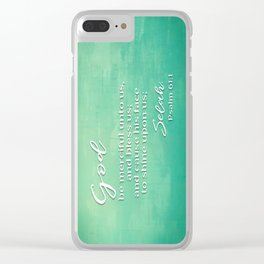 Psalm 61 Clear iPhone Case