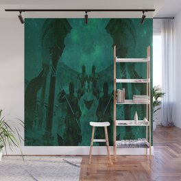 Fight Among the Gods Wall Mural