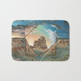 Colorado National Monument Polyscape Bath Mat
