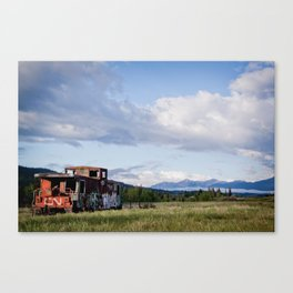 End of the line... Part II Canvas Print