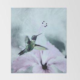 Hummingbird Throw Blanket