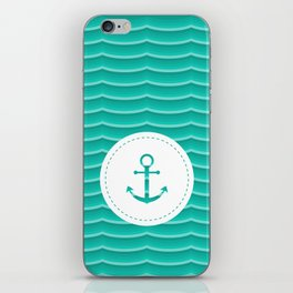 A pirate's life for me iPhone Skin