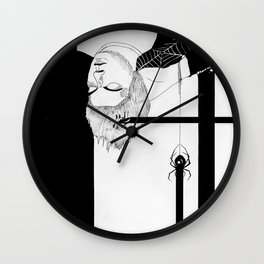 Spiderhead Wall Clock