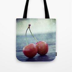 Cherry Kiss Tote Bag