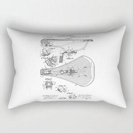 patent art Broadbent Saddle for Velocipedes 1893 Rectangular Pillow