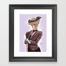 Maggie Smith Framed Art Print