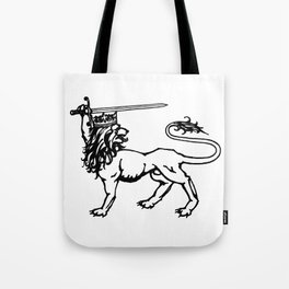 Logo Lion Tote Bag