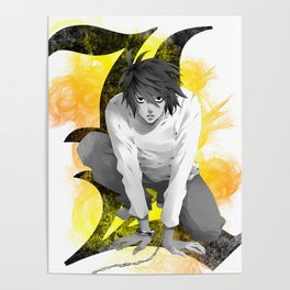 Death Note L Poster