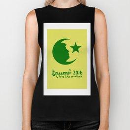 TRUMP 2016 - I love the Muslims Biker Tank