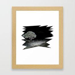 Winternacht Framed Art Print