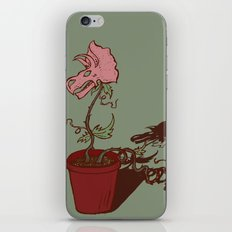 Nepenthes Ceratopsidae iPhone & iPod Skin