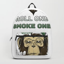 Weed Lovers - Roll One Smoke One Backpack