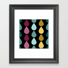 Rain Drops #2 Framed Art Print