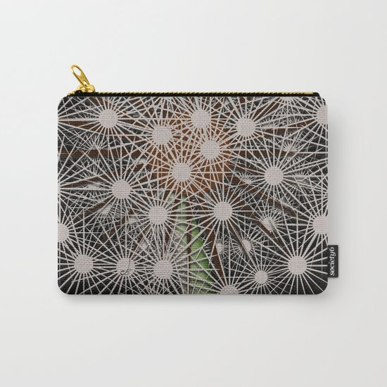 Abstract Dandilion Seeds Carry-All Pouch
