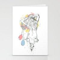 birthday Stationery Cards featuring birthday by Cassidy Rae Marietta