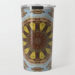 Colors of Rust, mandala 03 Travel Mug