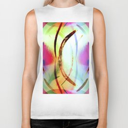Tropical Tourmaline Biker Tank