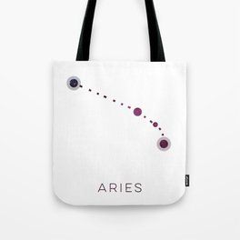 ARIES STAR CONSTELLATION ZODIAC SIGN Tote Bag