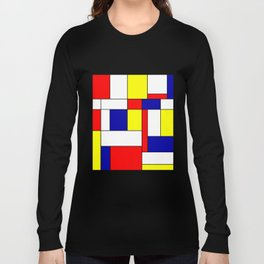 Mondrian #34 Long Sleeve T-shirt