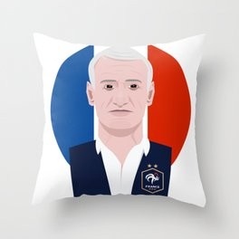 Didier Deschamps Throw Pillow